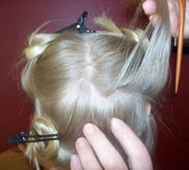 Once a week take a peek head lice advice head lice image 3 spiritdancerdesigns Image collections